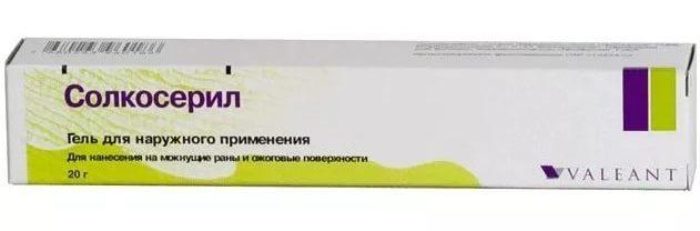 Солкосерил (гель, мазь, крем) — отзывы, цена, аналоги