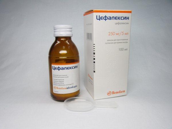 Таблетки цефалексин