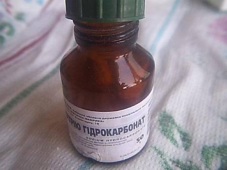 Аптечная (медицинская) сода — очищенный раствор