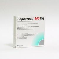 Таблетки берлитион 300: инструкция по применению