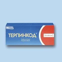 Терпинкод - инструкция по применению, цена, аналоги, дозировка для взрослых и детей