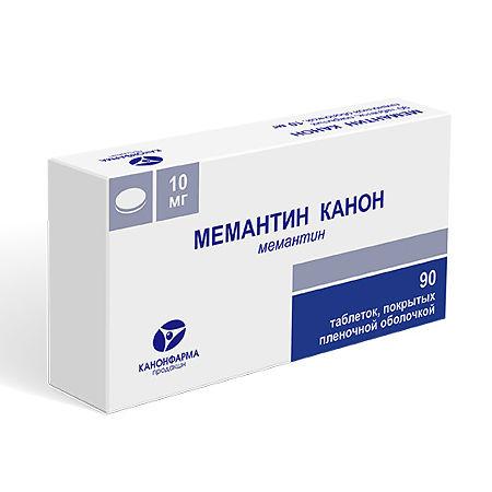 Аналоги таблеток мемантин