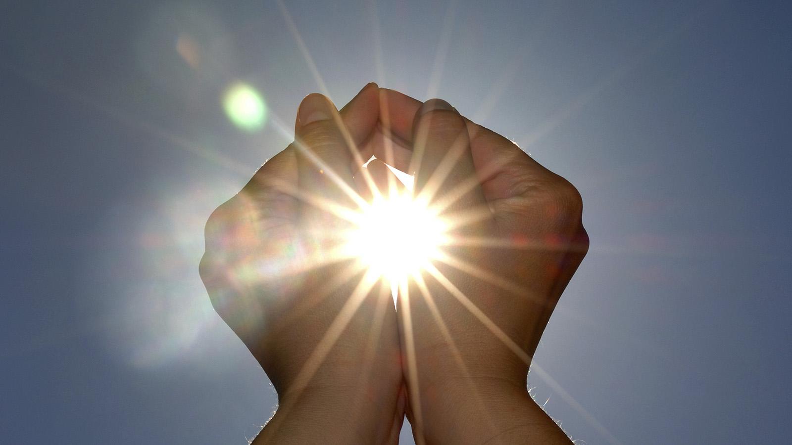 Влияние солнечного света на организм человека