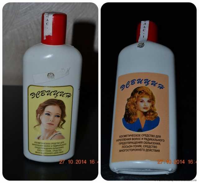 Эсвицин — бережное средство для восстановления волос