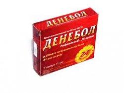 Денебол гель. применение, инструкция, побочные эффекты, противопоказания