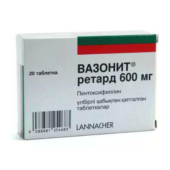 Пентоксифиллин: инструкция по применению, аналоги и отзывы, цены в аптеках россии