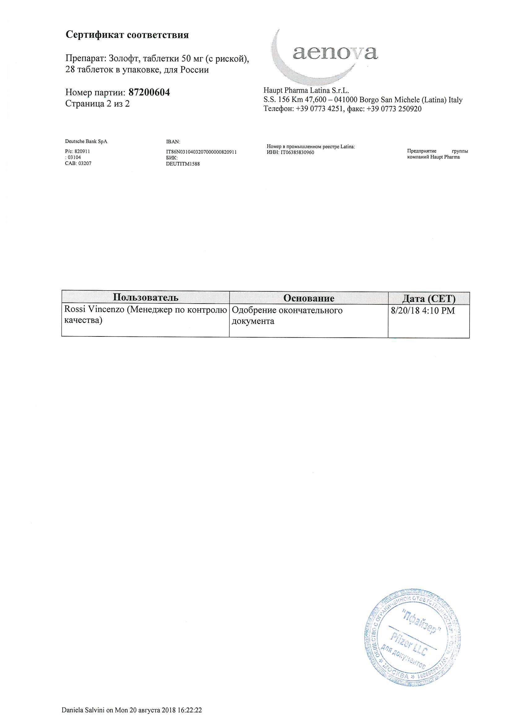 Золофт: инструкция по применению, аналоги и отзывы, цены в аптеках россии
