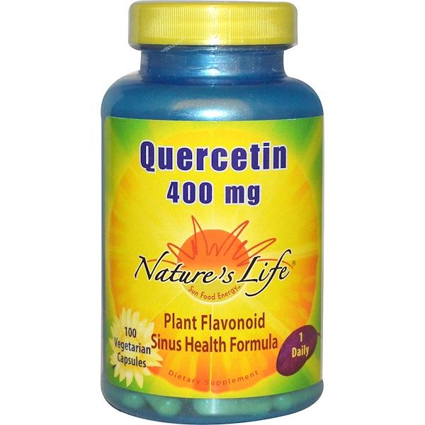 Кверцетин – противовоспалительное средство от аллергии