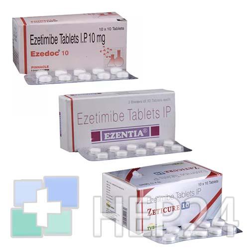 Препарат: эзетрол в аптеках москвы