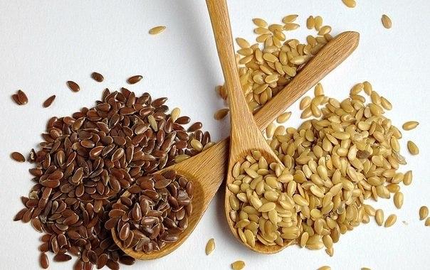 Чистка кишечника льняным семенем