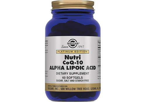 Альфа-липоевая кислота солгар – обзор и инструкция