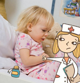 Причины рвоты у детей без температуры - как оказать первую помощь, лечение