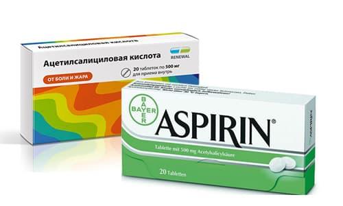 Аспирин против прыщей на лице