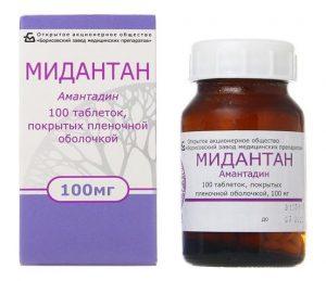 Мидантан – инструкция по применению таблеток, аналоги, цена, отзывы