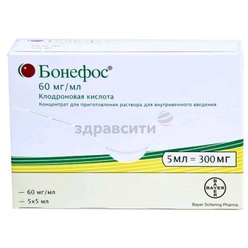 Применение лекарства бонефос при остеопорозе