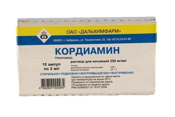 От чего помогают капли 250 мл и уколы кордиамин: инструкция по применению