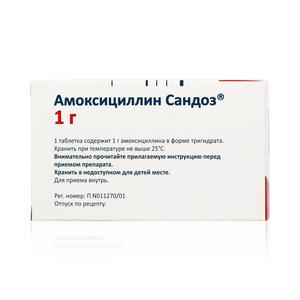 """""""амоксициллин сандоз"""": инструкция по применению, аналоги и отзывы"""