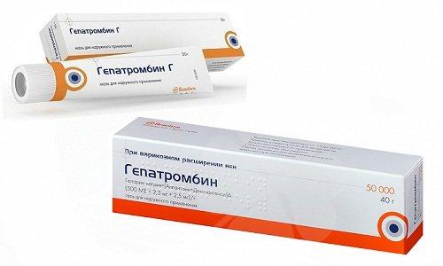 Мазь и гель, свечи ректальные гепатромбин: инструкция по применению