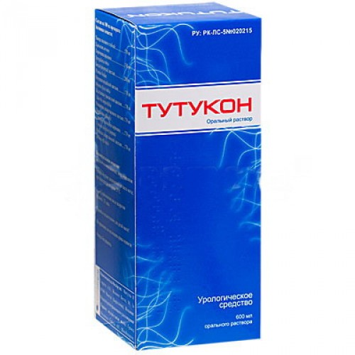 Сироп тутукон: состав, действие и применение препарата