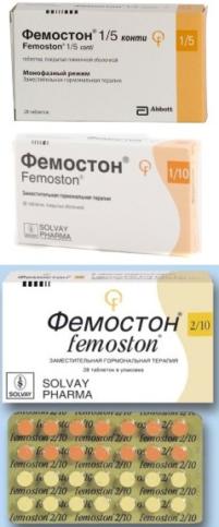 Фемостон конти мини таблетки, п/плен. обол., по 0,5 мг/2,5 мг №28 (28х1)