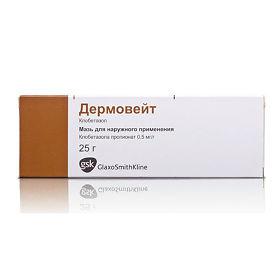 Инструкция по применению крема и мази дермовейт — цена и российские аналоги