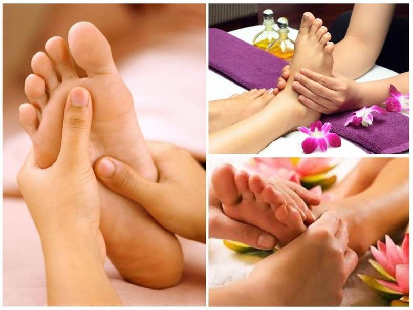 Массаж ступней ног – учимся быть здоровыми и красивыми