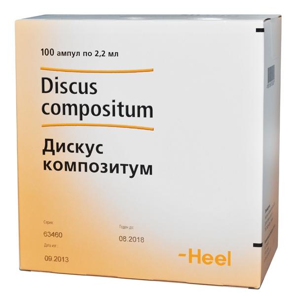 Отзывы о препарате дискус композитум
