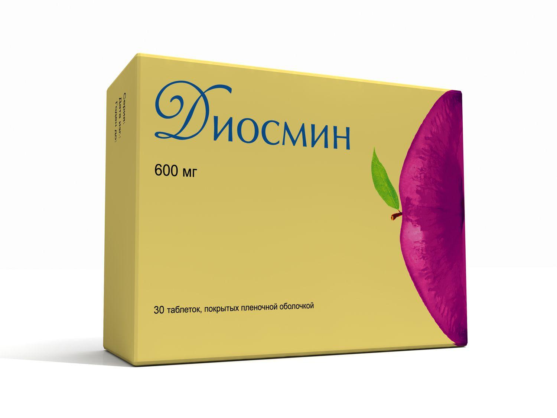 Флебофа таблетки 600 мг
