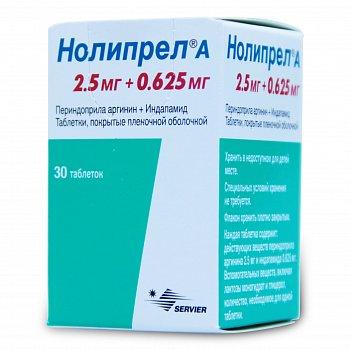 При каком давлении и как правильно пить таблетки нолипрел?