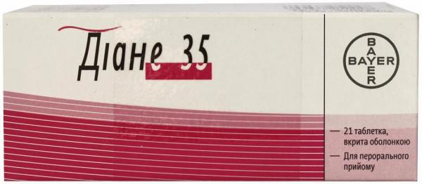 Таблетки диане-35: инструкция по применению и отзывы