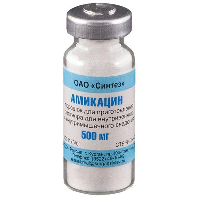 Амикацин - инструкция по применению, аналоги, отзывы, цена