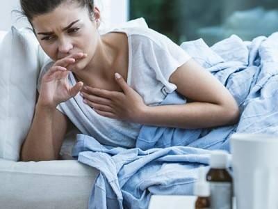 Давящийся кашель у взрослого
