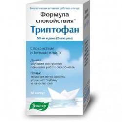 Триптофан эвалар. отзывы пациентов принимавших препарат, инструкция по применению, аналоги, состав