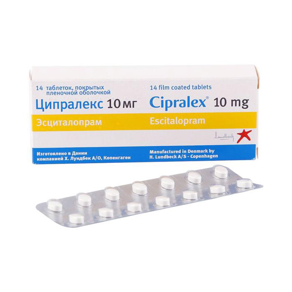 Ципралекс: инструкция по применению (таблетки)
