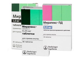 Аналог таблеток реквип модутаб