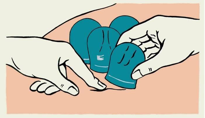 Как правильно ставить банки на спину при кашле: схема и рекомендации