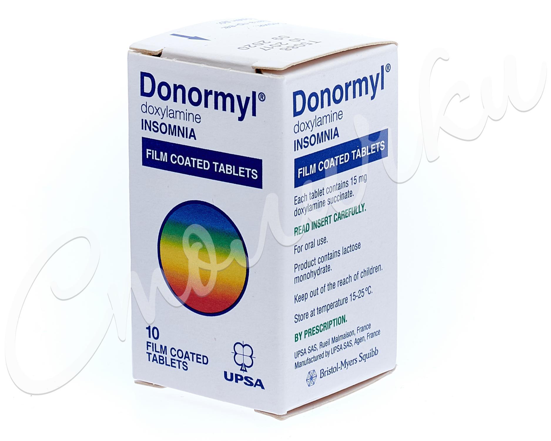 Инструкция о том как правильно применять таблетки донормил при остеохондрозе