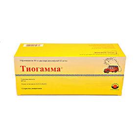 Препарат тиогамма: инструкция, цены, аналоги