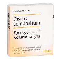 Гомеопатическое средство дискус композитум: механизм действия и эффективность