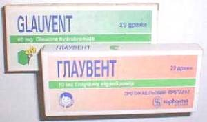 Глаувент: состав, показания, дозировка, побочные эффекты