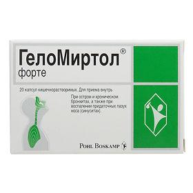 Лекарственные средства комплексного действия – против бронхитов и синуситов