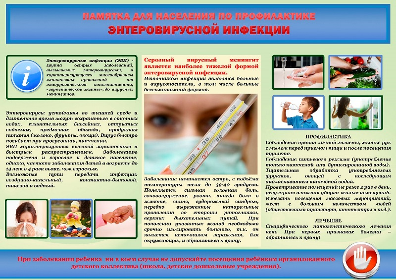 Энтеровирусные инфекции