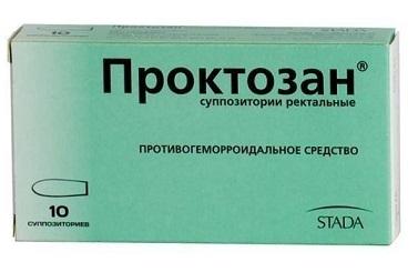 Инструкция по применению проктозана при геморрое
