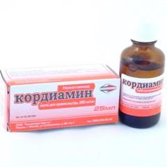 Кордиамин — показания к применению, повышает или понижает давление