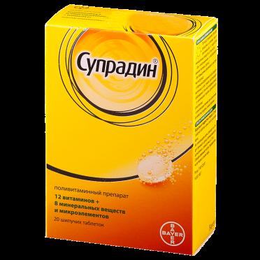 Супрадин − инструкция по применению, отзывы, цена витаминов, аналоги