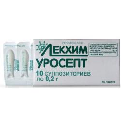Уросепт, свечи инструкция к препарату