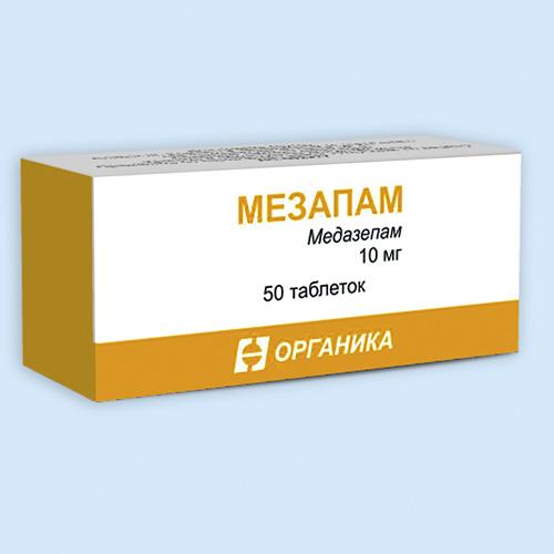 """""""мезапам"""": отзывы врачей, инструкция, цена"""
