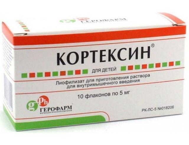 Отзывы о препарате кортексин