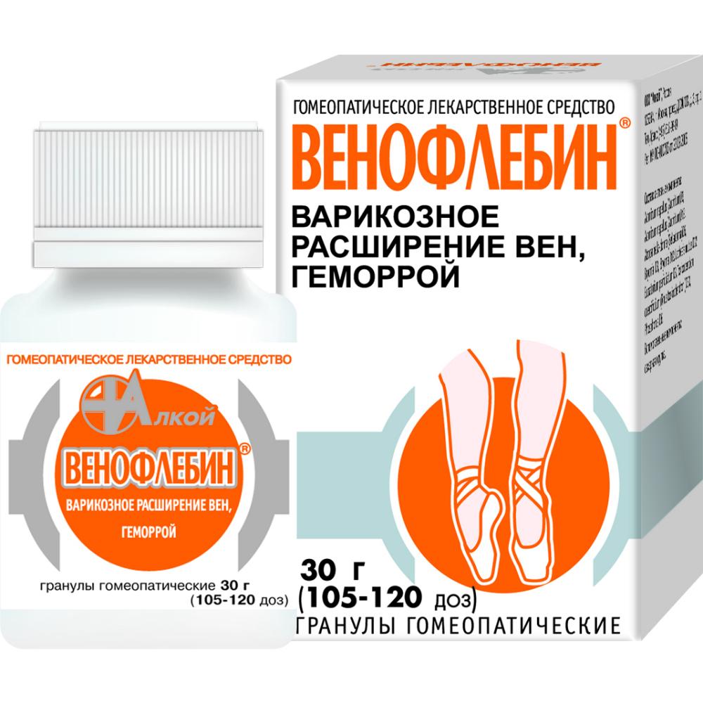 Венофлебин — биодобавка от сосудистых патологий