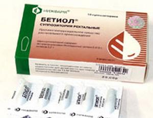 Ихтиоловые свечи при лечении геморроя